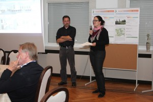 2. Bürgerplanungsrunde, Vorstellung der Dorfküche, Frau Stücker