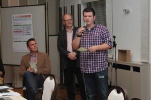 2. Bürgerplanungsrunde in Bokel, Vorstellung des Internetkonzeptes